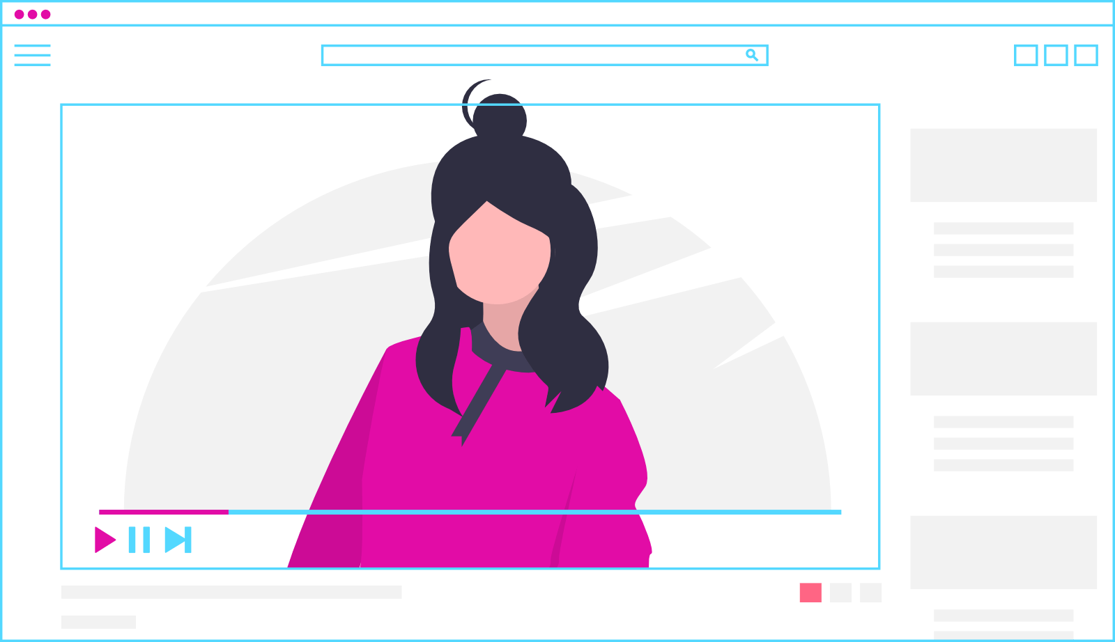 Explainer video character